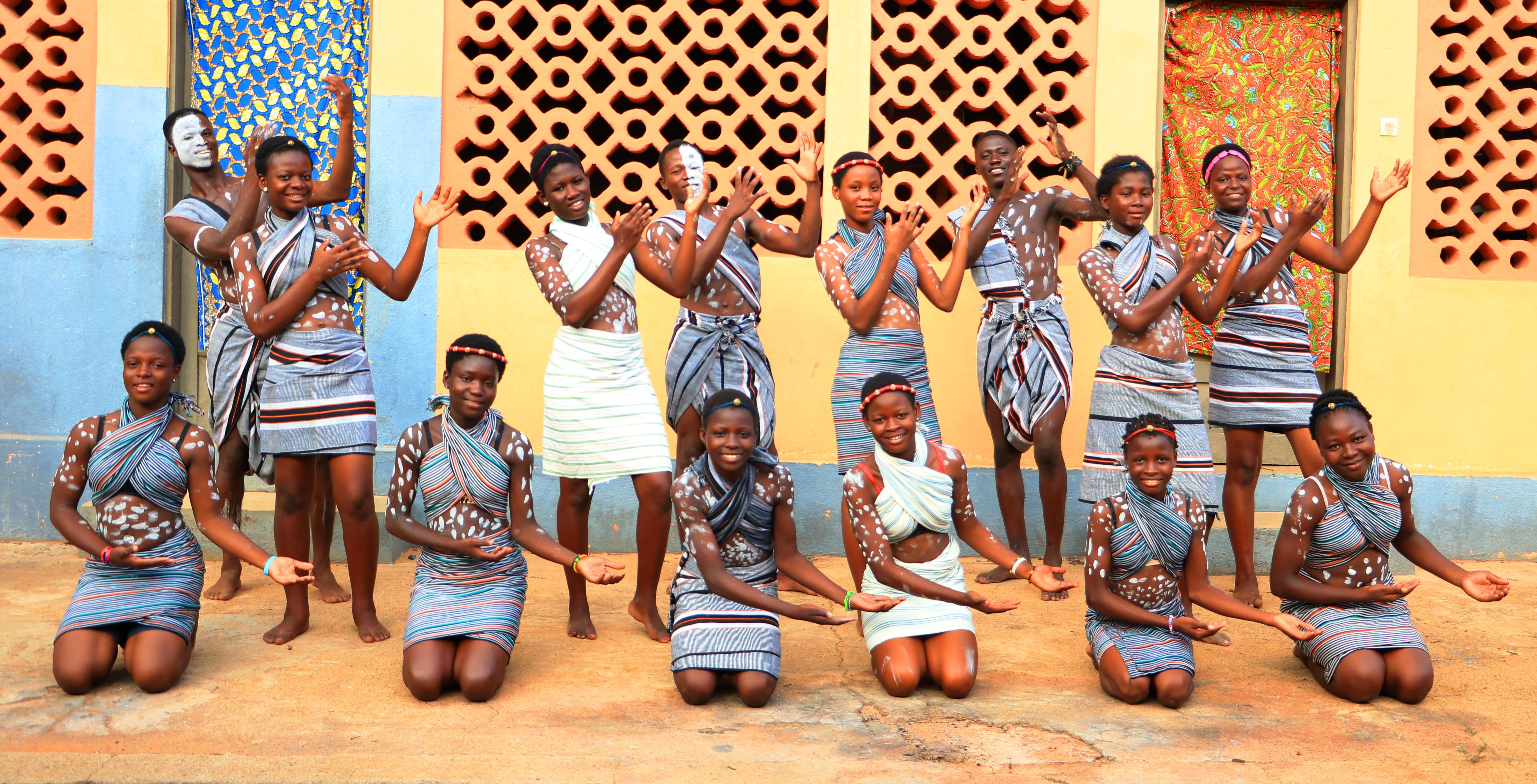 Les danseuses du groupe Soli'choeur. (Photo Jean Yoabone/VIE)